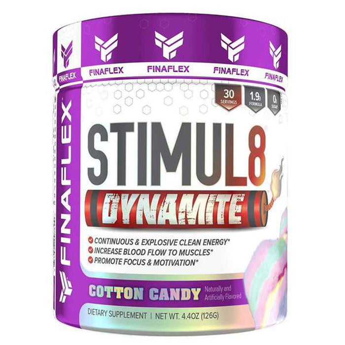 Finaflex Pre-Workouts Cotton Candy Finaflex Stimul8 Dynamite 30 Servings (4535297998963)