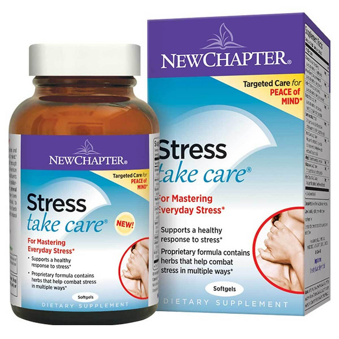 New Chapter Vitamins, Minerals, Herbs & More New Chapter Stress Take Care 60 Softgels (581456003116)