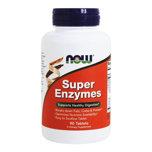 Now Foods Vitamins, Minerals, Herbs & More Now Foods Super Enzymes 90 Tabs (580934402092)