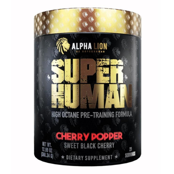 Alpha Lion Pre-Workouts Cherry Popper Alpha Lion Superhuman 21 Servings (4358888947827)