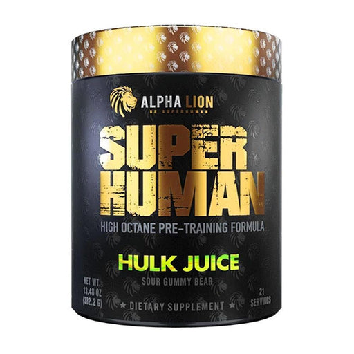 Alpha Lion Pre-Workouts Hulk Juice Alpha Lion Superhuman 21 Servings (4358888947827)