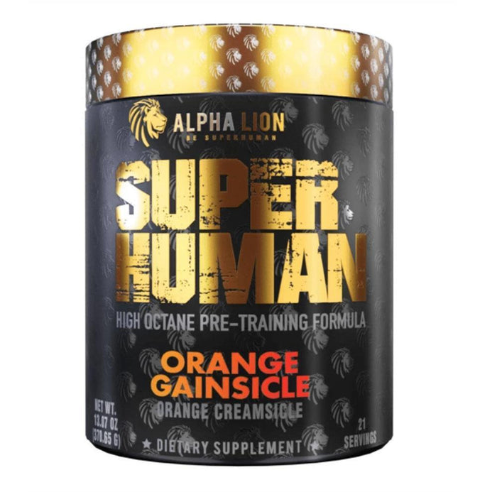 Alpha Lion Pre-Workouts Orange Gainsicle Alpha Lion Superhuman 21 Servings (4358888947827)