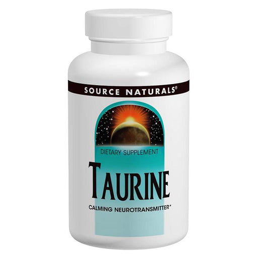 Source Naturals Sports Nutrition & More Source Naturals Taurine 1000mg 60 Caps (580898029612)