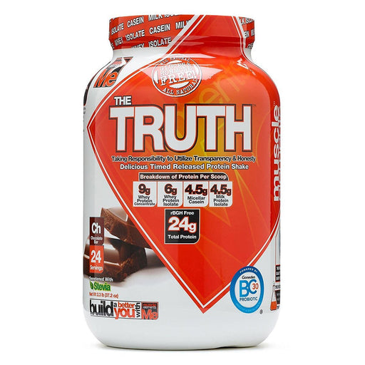 Muscle Elements Sports Nutrition & More Chocolate Bar Muscle Elements The Truth 24 Servings (582540787756)