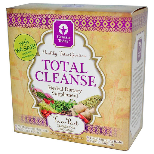 Genesis Today Vitamins, Minerals, Herbs & More Genesis Today Total Cleanse 2 Part Formula (580875288620)