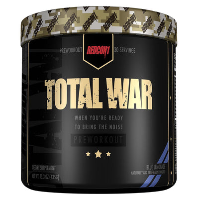 Redcon 1 Sports Nutrition & More blue lemonade Redcon1 Total War 30 Servings (582580305964)