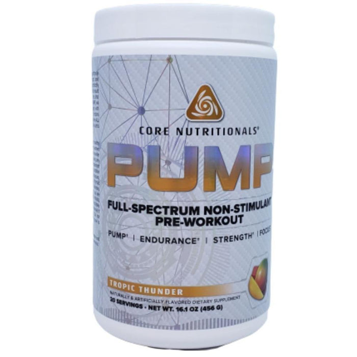 Core Nutritionals Nitric Oxide Tropic Thunder Core Nutritionals Pump 20 Servings (4476260024435)