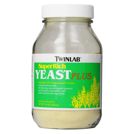 Twinlab Specialty Health Products Default Twinlabs Super Rich Yeast Plus 16oz (1713601839148)