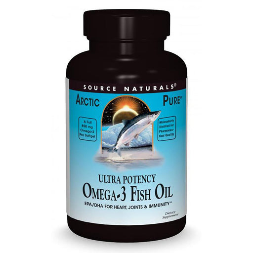 Source Naturals Vitamins, Minerals, Herbs & More Source Naturals Ultra Potency Omega-3 Fish Oil 850mg 60 Gels (581299961900)