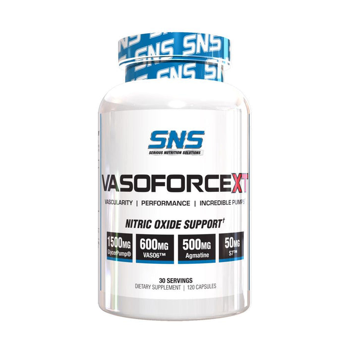 Serious Nutrition Solutions Nitric Oxide Serious Nutrition Solutions VasoforceXT (4247982014508)