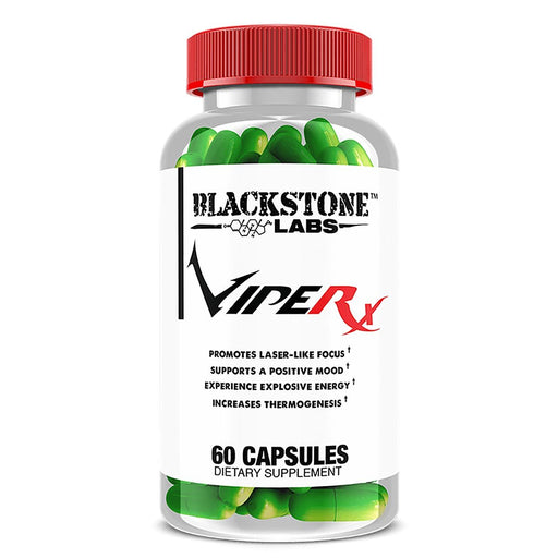 Blackstone Labs Sports Nutrition & More Blackstone Labs VipeRX (Was Cobra 6P Extreme) 60 Caps (582122799148)