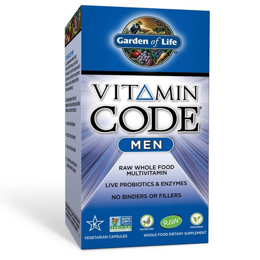 Garden of Life Vitamins, Minerals, Herbs & More Garden of Life Vitamin Code Men's Formula 240 Vege Caps (581193564204)