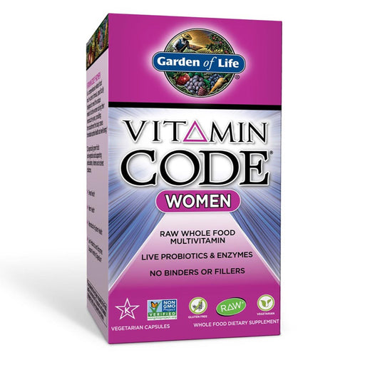 Garden of Life Vitamins, Minerals, Herbs & More Garden of Life Vitamin Code Women's Formula 240 Vege Caps (581191827500)
