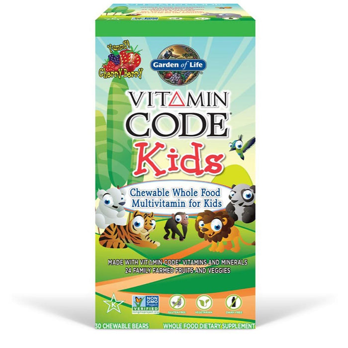 Garden of Life Vitamins, Minerals, Herbs & More Garden of Life Vitamin Code Kids 30 Chews (581196775468)