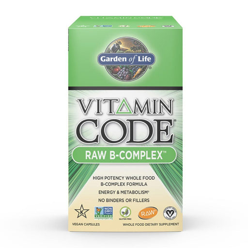 Garden of Life Vitamins, Minerals, Herbs & More Garden of Life Vitamin Code Raw B-Complex 120 Vege Caps (581520359468)