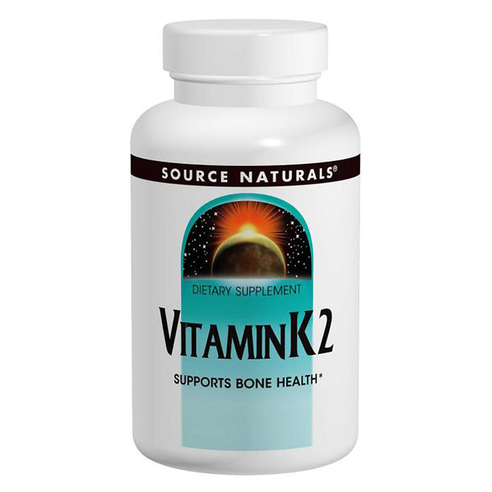 Source Naturals Vitamins, Minerals, Herbs & More Source Naturals Vitamin K2 100mcg 30 Tabs (580842192940)