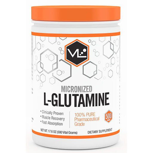 Vital Labs Sports Nutrition & More Vital Labs L-Glutamine 500 Grams (581973377068)