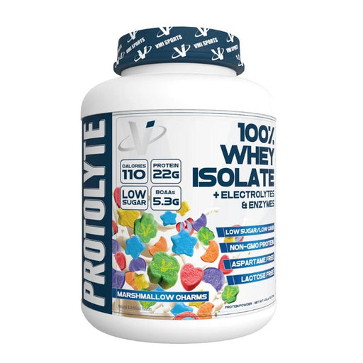 VMI Sports Protein Powders Marshmallow Charms VMI Sports Protolyte 100% Whey Isolate Protein 25 Servings (4375825186931)