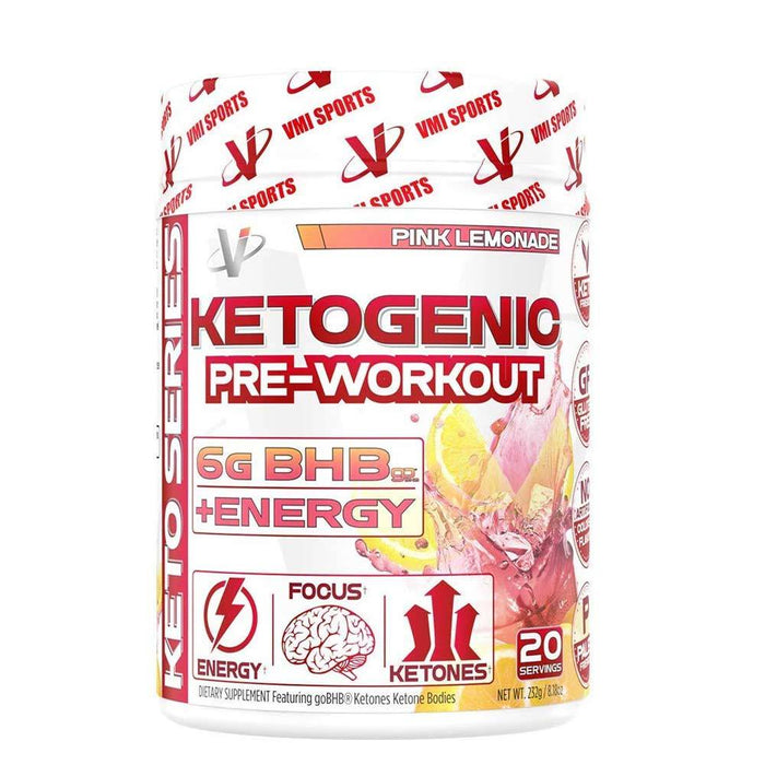 VMI Sports Pre-Workouts Pink Lemonade VMI Sports Ketogenic Pre-Workout 20 Servings (4375824367731)