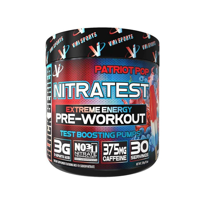 VMI Sports Pre-Workouts Patriot Pop VMI Sports Nitratest 30/Servings (4375824531571)
