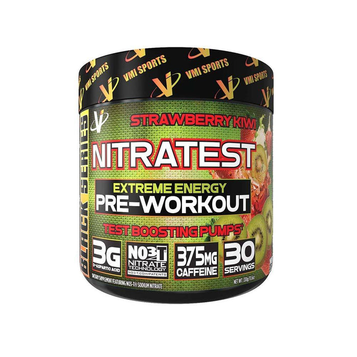 VMI Sports Pre-Workouts Strawberry Kiwi VMI Sports Nitratest 30/Servings (4375824531571)
