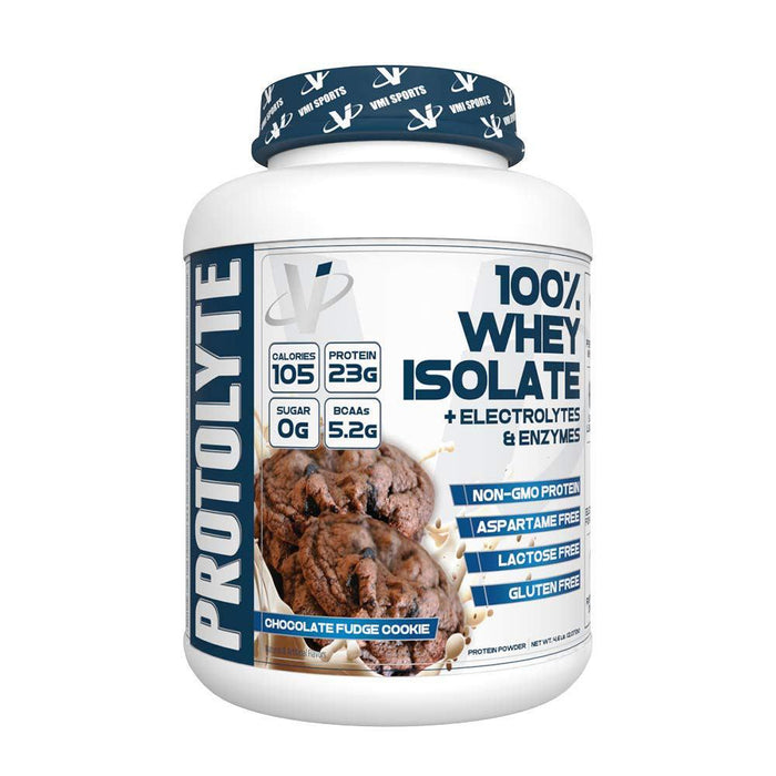 VMI Protolyte 100% Whey Isolate 70/Servings Chocolate Fudge Cookie (4375825219699)