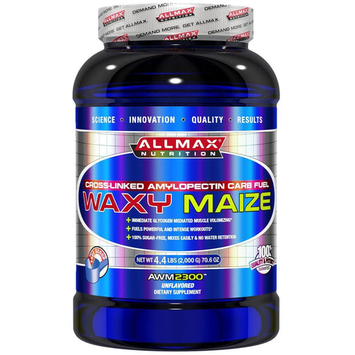 Allmax Nutrition Sports Nutrition & More Allmax Nutrition Waxy Maize Unflavored 2000 Grams (581324341292)