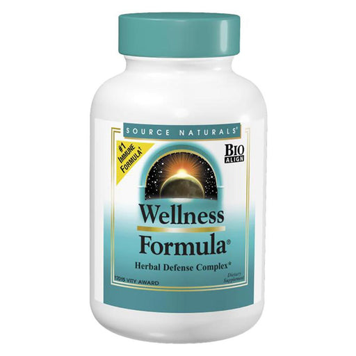 Source Naturals Vitamins, Minerals, Herbs & More Source Naturals Wellness Formula Herbal Defense Complex 180 Tablets (580487151660)
