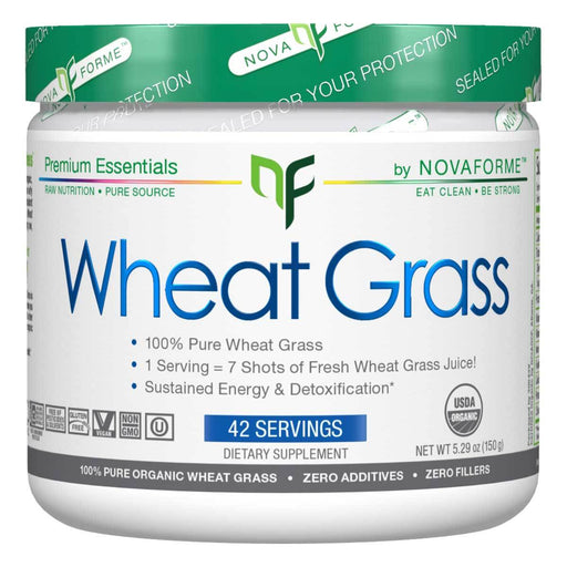 NovaForme Vitamins, Minerals, Herbs & More NovaForme Wheat Grass 42 Servings (582379929644)