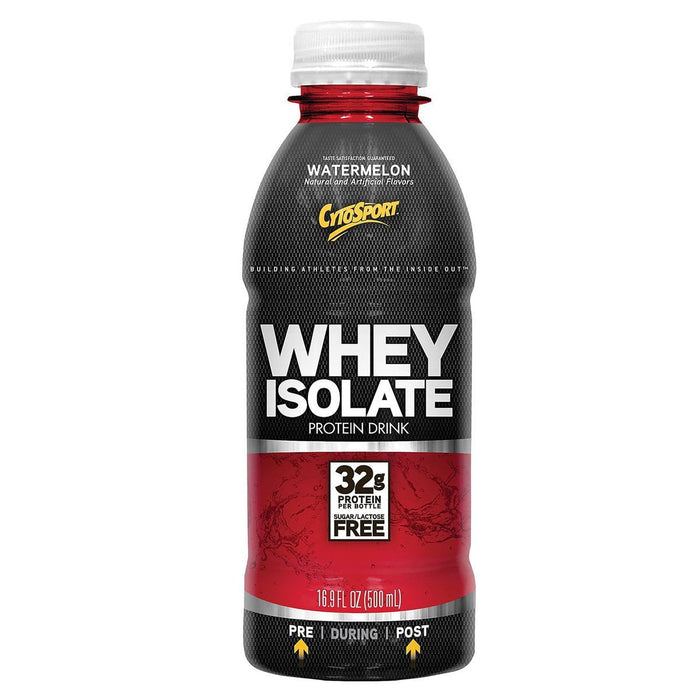 CytoSport Sports Nutrition & More Watermelon CytoSport Whey Isolate RTD 12/Case (581742297132)