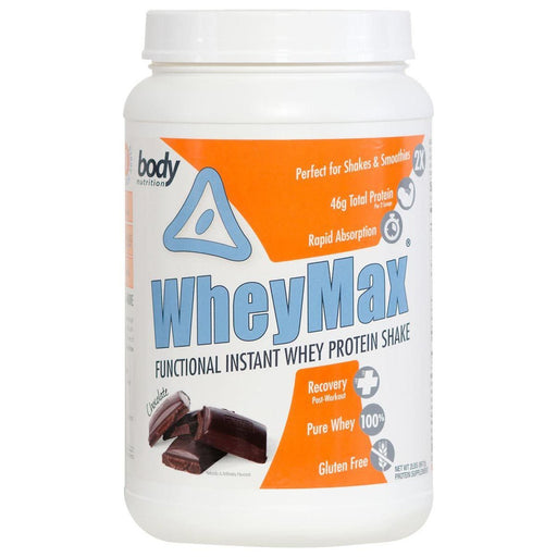 Body Nutrition Sports Nutrition & More Chocolate Body Nutrition WheyMax 2 Lbs (582059589676)