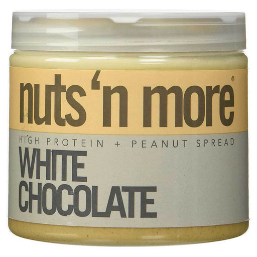 Nuts 'N More Vitamins, Minerals, Herbs & More Nuts 'N More White Chocolate Peanut Butter 16 Oz (582474072108)