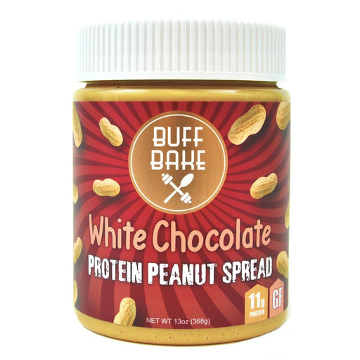 Buff Bake Sports Nutrition & More Buff Bake White Chocolate Protein Peanut Butter Spread 13oz (582534955052)