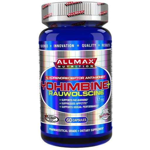 Allmax Nutrition Sports Nutrition & More Allmax Nutrition Yohimbine HCL 60 Caps (581769920556)