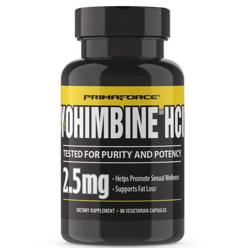 PrimaForce Sports Nutrition & More Primaforce Yohimbine HCL 60ct (833911980076)