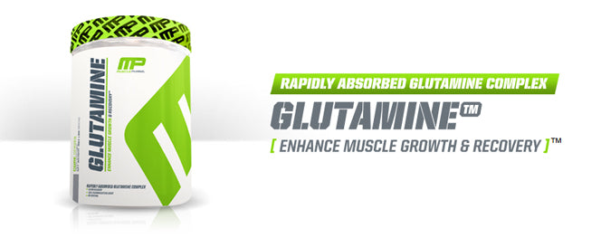 musclepharm banner glutamine