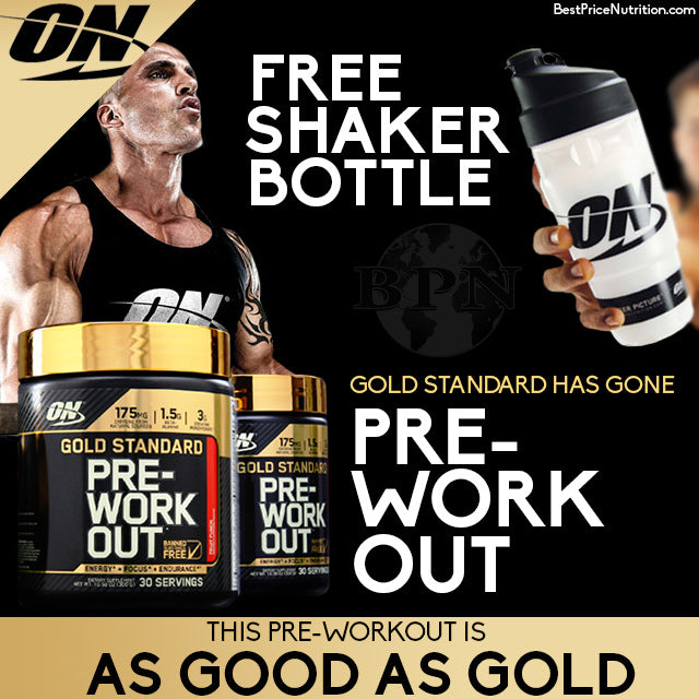 Buy Gold Standard Pre-Workout, Get a Free Shaker Bottle