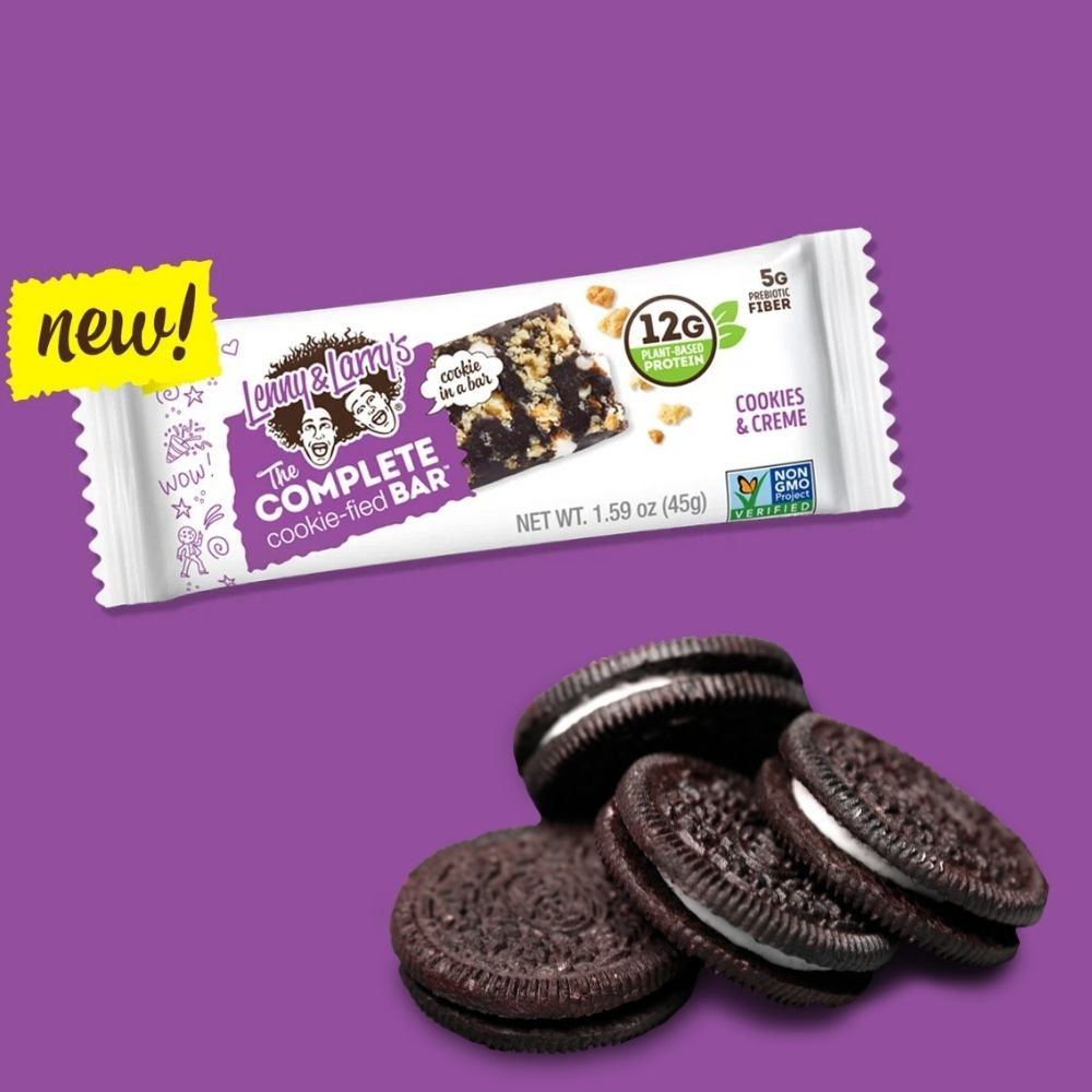Complete Cookie-Fied Bar Cookies & Creme