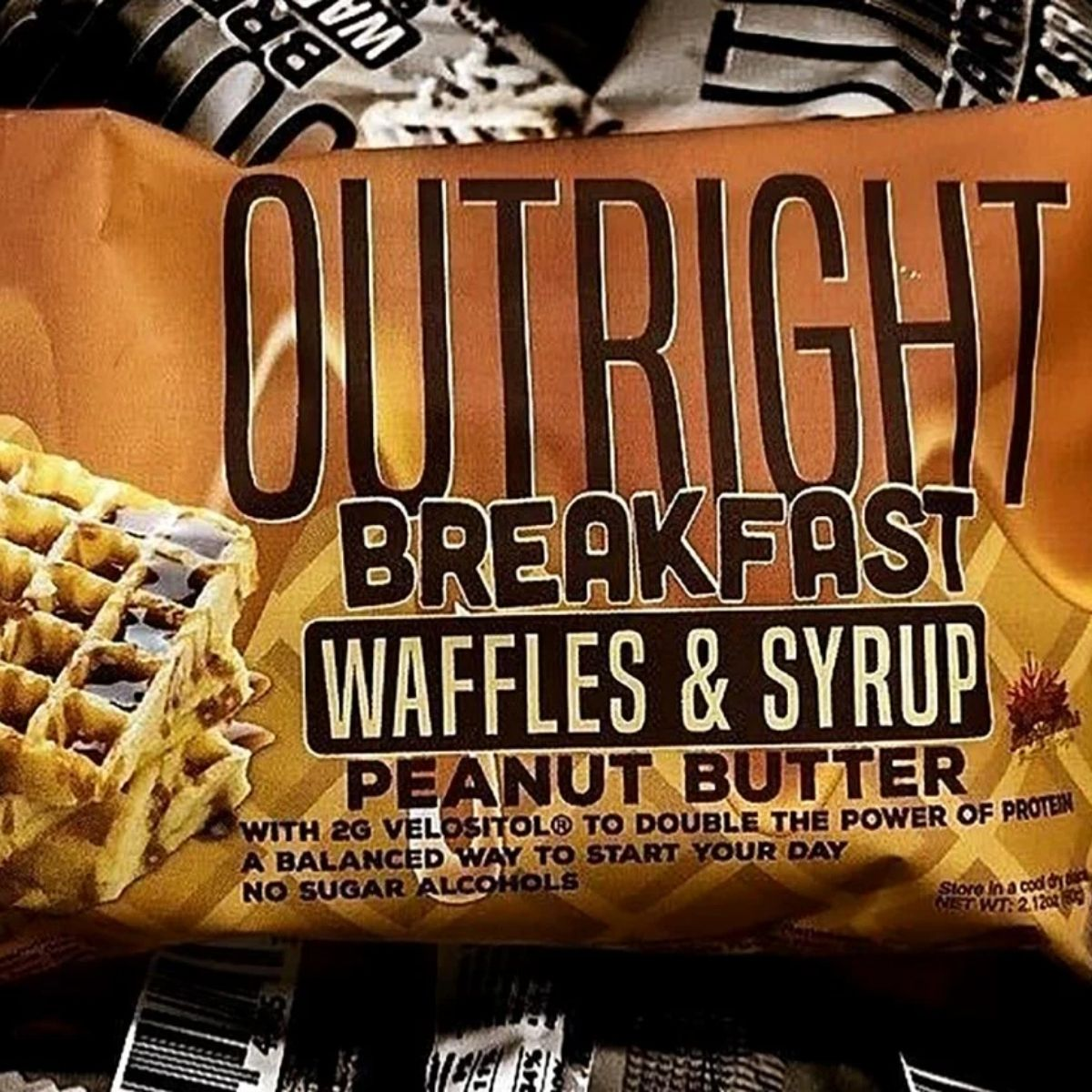 Outright Breakfast Bar Waffles & Syrup