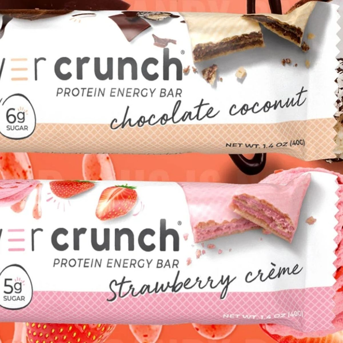PowerCrunch Bar New Flavors