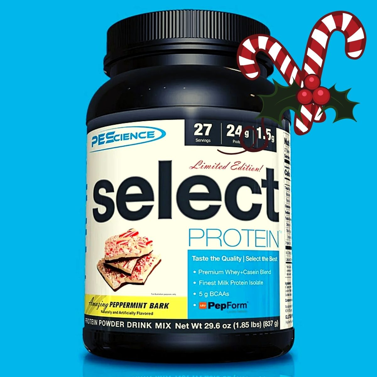 PEScience Select Protein Peppermint Bark