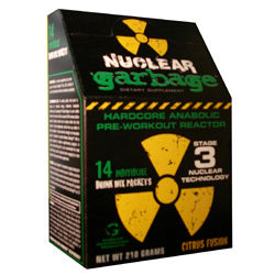 Nuclear Garbage Pre Workout