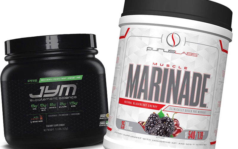 Jym Pre Workout Vs Muscle Marinade