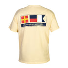 Nautical Signal Flag - Butter Short Sleeve