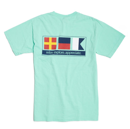 Nautical Signal Flag - Island Reef Short Sleeve