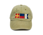 Nautical Flag Signal Hat - Tan