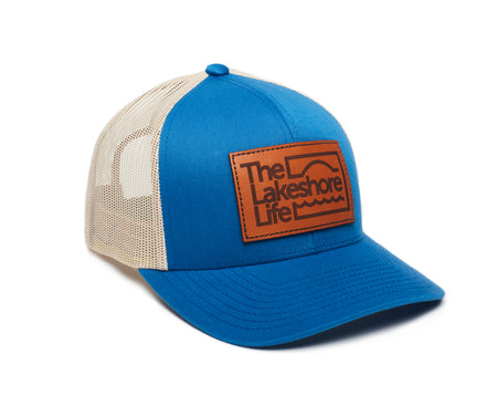 Logo Patch Hat - Ocean Blue