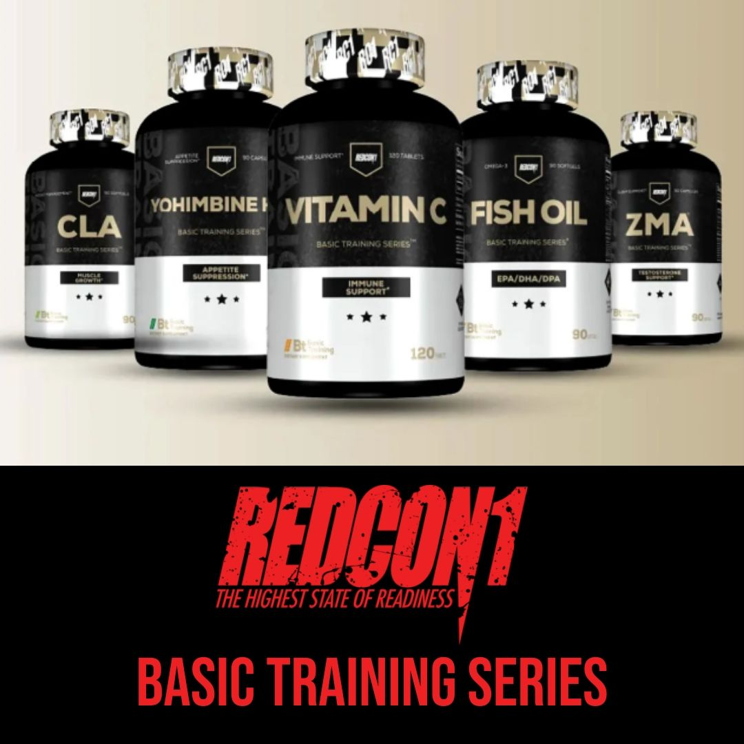 "Redcon1 Adds 6 Supplements to Their ""Basic Training"" Line"