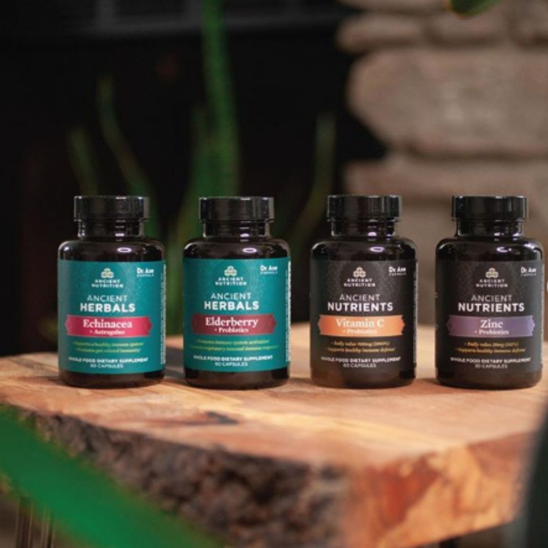 Ancient Nutrition Launches New Series of Immune Health Supplements