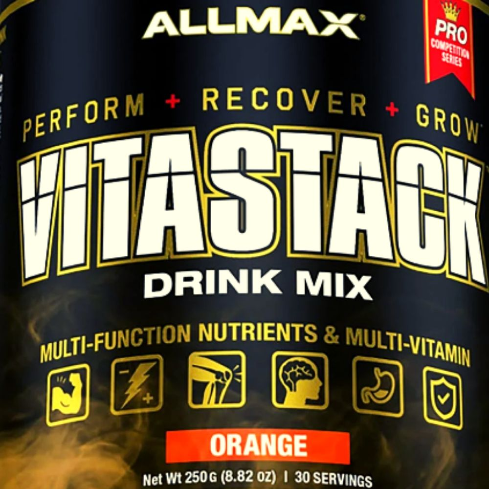 Allmax VitaStack Goes from Pill Form to Orange Flavored Powder